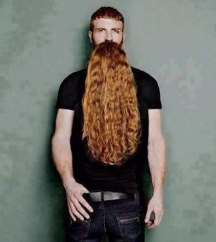 Glorious beard, oh wait...