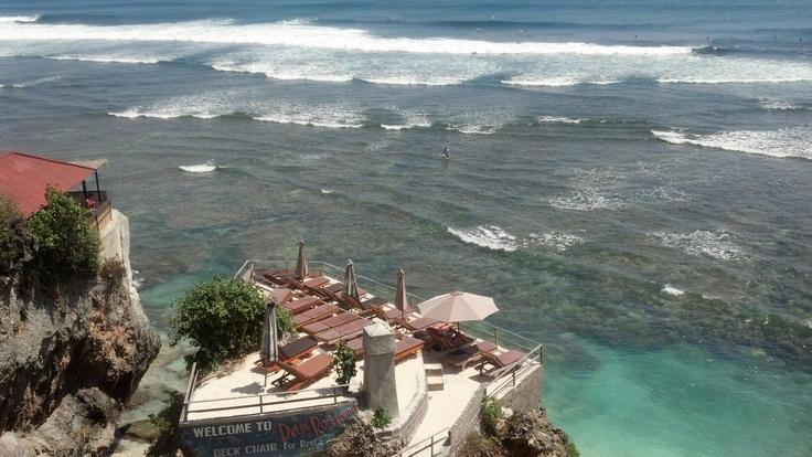 Catching my breath while taking this pic.. - Bluepoint Beach Uluwatu, Bali.