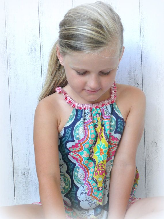 Girls+Summer+cotton+Dress+Sunny+day+dress+by+LittleMacsClothing,+$32.00