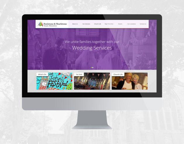 Penistone Church Website Design