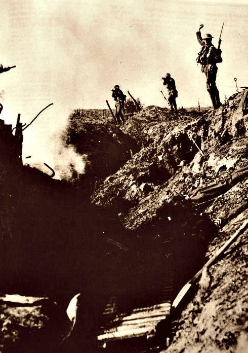 WWI, April 1917, Canadians at Vimy