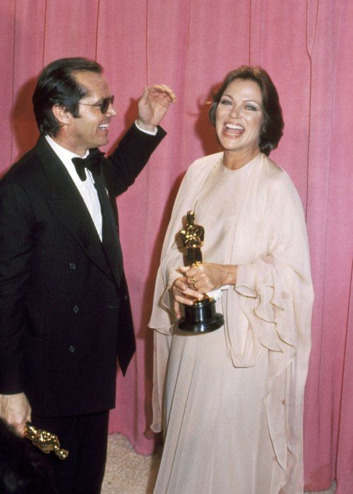Jack Nicholson & Louise Fletcher, 1975 Best Actor & Actress // One Flew Over the Cuckoo's Nest,