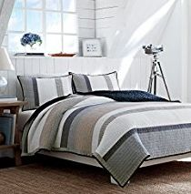 The Ultimate Guide to Nautical Bedding Sets by Beachfront Decor!  Check out bedding, quilt, comforter, and duvet cover sets that feature nautical elements like shipwheels, anchors, lighthouses, boats, sailboats, ships, compasses, and more.