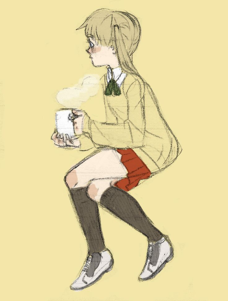 i lOVE when people draw maka's sweater with long sleeves