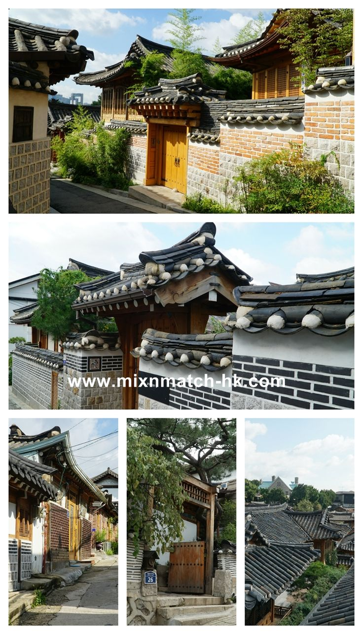 Taste of Seoul I Bukchon Hanok Village is an area fill with old traditional houses. Exploring around the area, you will find museums, café, shops, boutiques and even houses for you to visit. It is definitely a place for you to relax and enjoy the scenery.