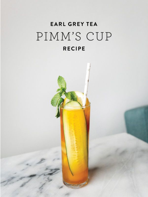 Earl Grey Tea Pimm's Cup