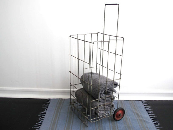 16 Best Wire Cart On Wheels Images On Pinterest