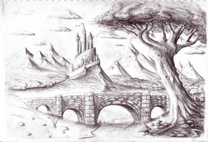 1001 Ideas For Diy Art Learn To Draw With A Pencil Pencil Drawing Pictures Nature Art Drawings Pencil Drawings Of Nature