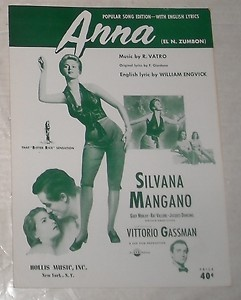 1951-ANNA-Film  SILVANA-MANGANO