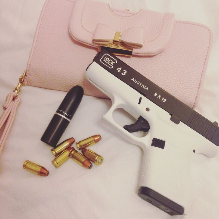 A glock 43 is a girls best friend. I love my gun :)