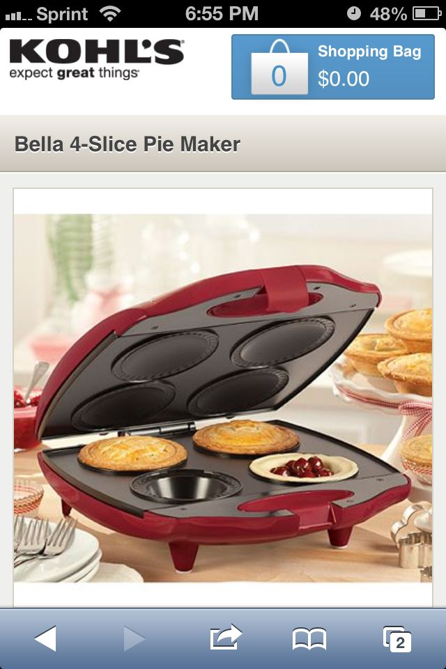 17 best images about wish list on pinterest disney for Bella personal pie maker recipes