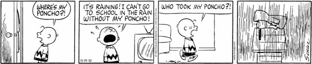 Peanuts- Comic strips for quotation marks practice