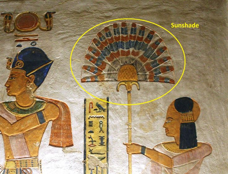 Ancient Egyptian Art | Variable of the Day, Ancient Egypt: Sunshade | Art of Counting