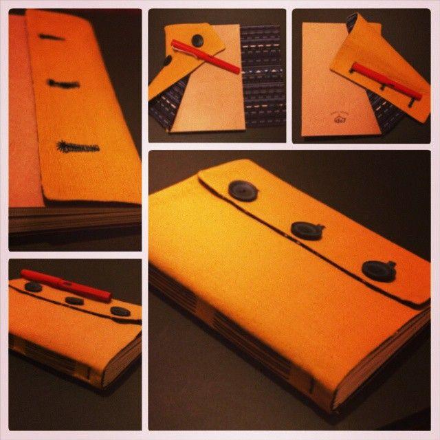 #de7tasarim #handmade #sketchbook  handmade book with pastel colors de7tasarim's photo on Instagram