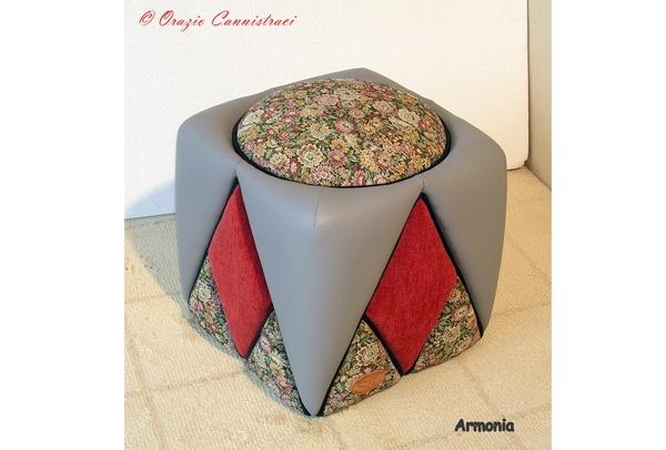 "Sclupt-Ottoman ""Armonia"" - Sofa, Chairs & Ottomans | Italian Box"