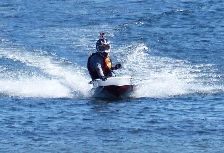 John Booker, New Zealand's bathtub racing champion