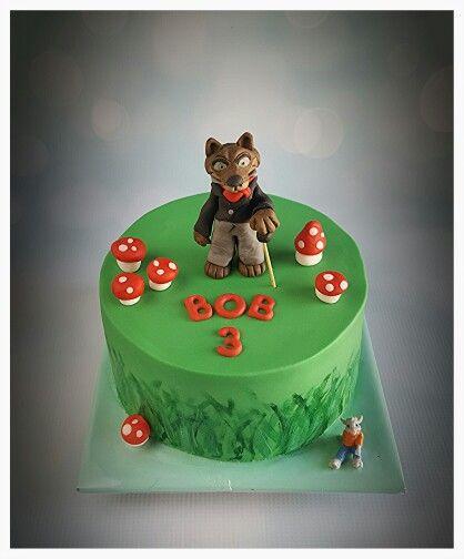 Wolf cake / wolf taart ( efteling )( sprookjesboom )