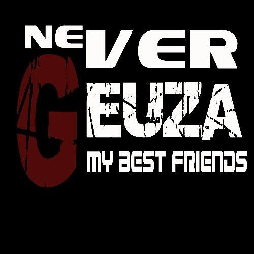 Never geuza / logo