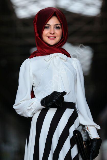 Pınar Şems - Sezen Gömlek Ekru