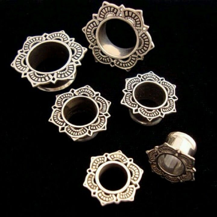 Tawapa gauged earrings. I haven't checked this link but these are usually soooo expensive!