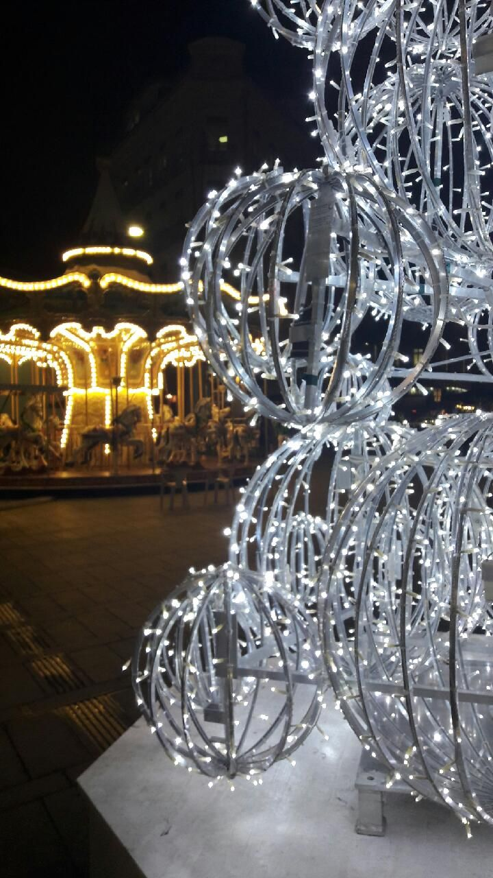 Christmas lights in Toulouse, France © M. Girardeau - Office de tourisme de Toulouse #visiteztoulouse