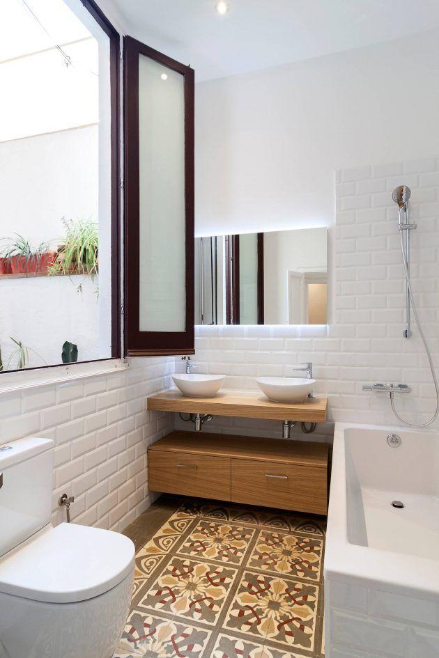 15 Atemberaubende Skandinavische Badezimmer Designs Die Sie Mogen Shabby Chic Badezimmer Modernes Badezimmerdesign