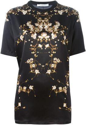Givenchy gypsophila print T-shirt - Shop for women's T-shirt - BLACK T-shirt