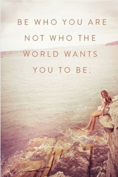 Be who God wants you to be