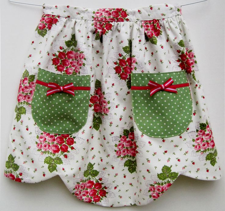 vintage+aprons | ... for Quilter » Blog Archive » Vintage-Inspired Aprons – #1 and #2