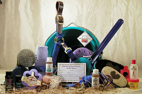 horse gift baskets | Welcome New Horse Gift Basket | Gift ...