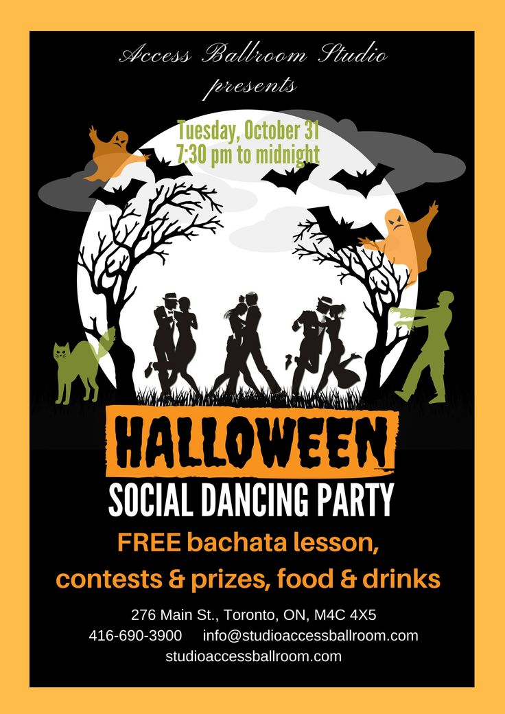 Halloween Social Dance Party Toronto