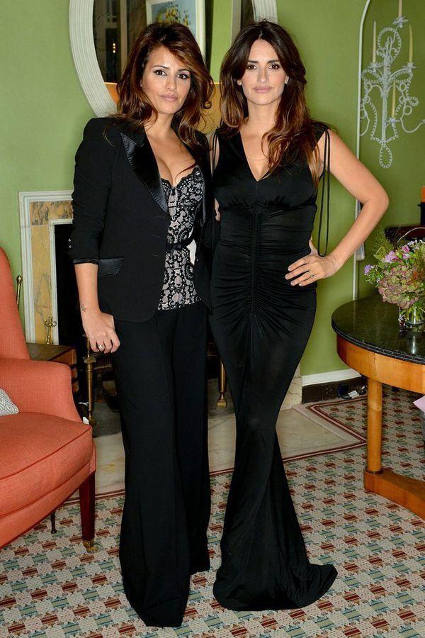 Beautiful Penélope Cruz & Beautiful Monica Cruz