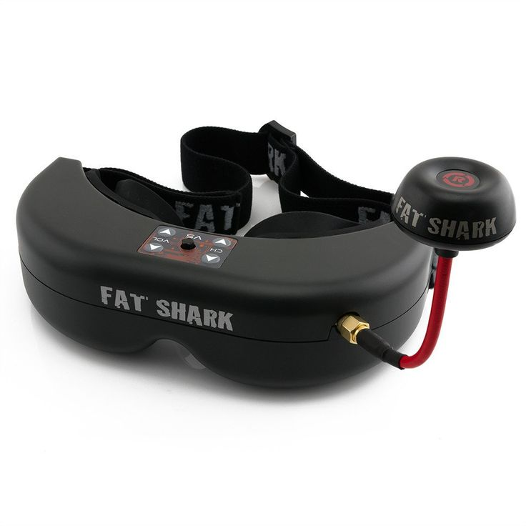 FatShark Fat Shark Teleporter V5 FPV Goggles 5.8G 7CH Video Glasses Headset Sale…