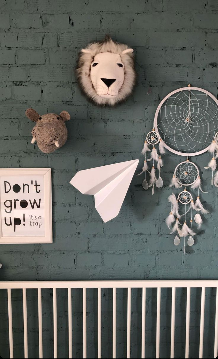 Faux Animal Head Wall Mount For Safari Nursery Decor With Images