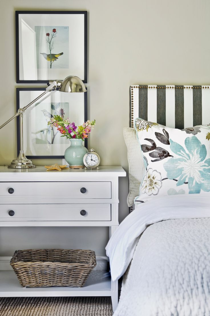 White bedrooms bedside tables night stands upholstered headboards - Kerrisdale Design Master Bedroom Tracey Ayton Photography