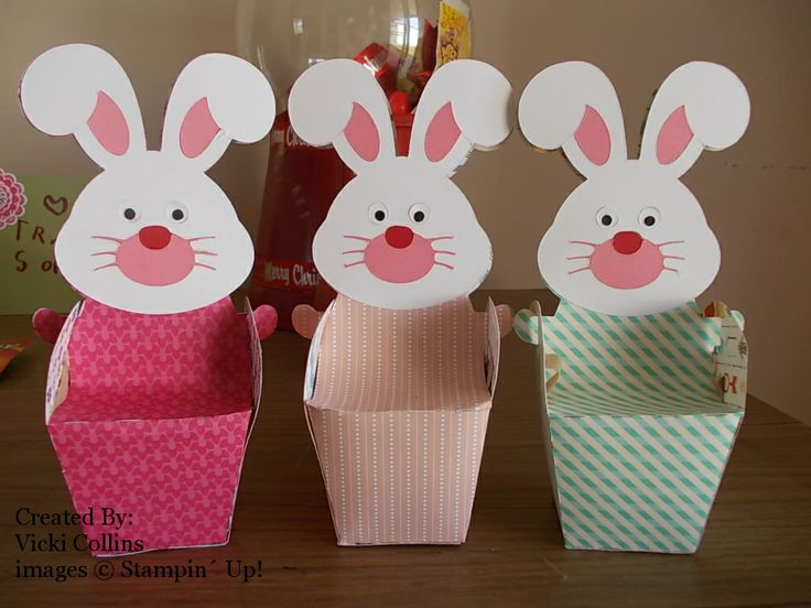 86 best easter treat bags and boxes images on pinterest treat stampin up easter treat boxes materials su cut out with a cameo negle Images