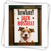 Gotta love the Jack Russell. Signs - Katherine Quirke Photography