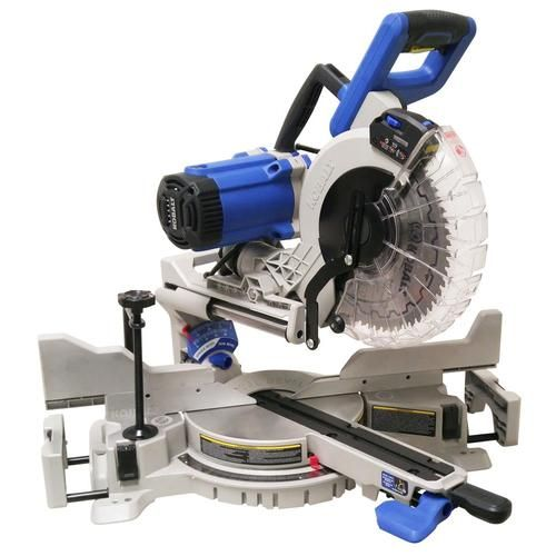 Kobalt 10 In 15 Amp Dual Bevel Sliding Compound Miter Saw Lowes Com In 2020 Sliding Compound Miter Saw Compound Mitre Saw Miter Saw