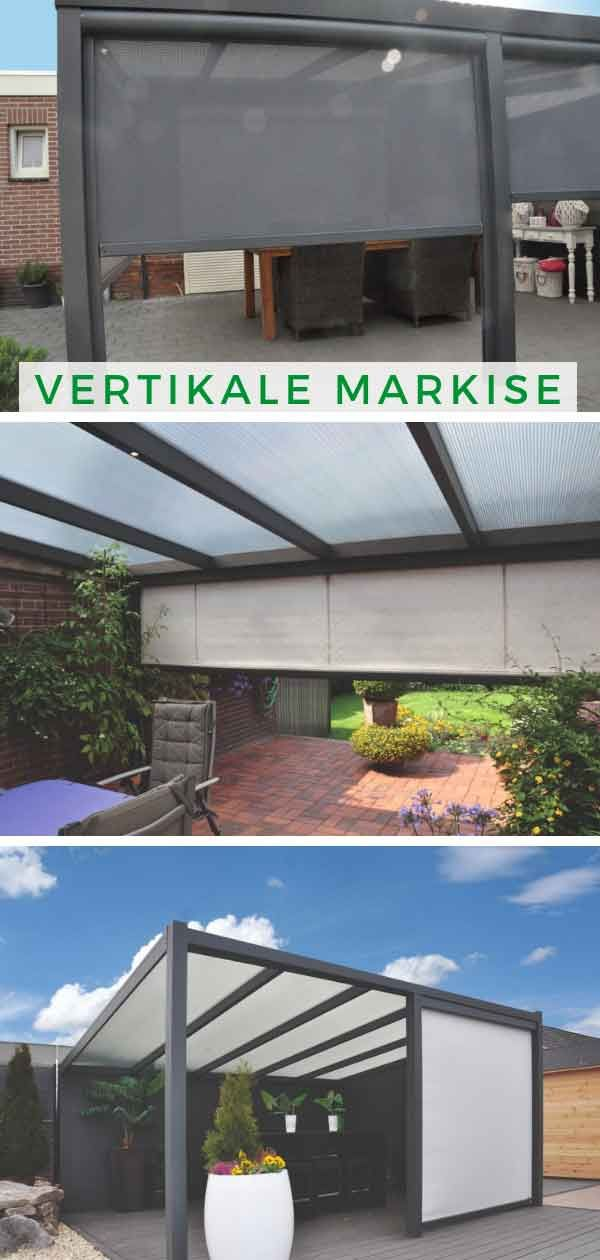 Vertikale Screens Markise Uberdachung Terrasse Pergola Markise