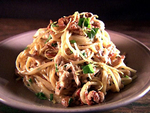 Chicken Carbonara--the best recipe I've found... reserve for when you reallyyyy need some comfort food :)
