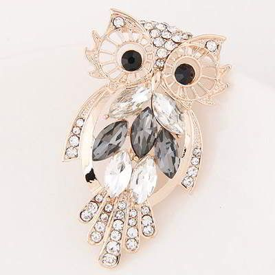 Diamond Owl Shape  Gray. Fashionable with passion REPIN if you like it. Only 57 IDR