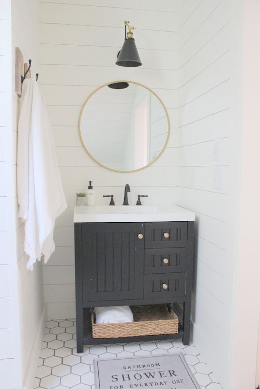 """Well, this little bathroom of ours is the smallest """"new"""" space that we created, and the most time consuming. How ironic. It's probably the most costly as well:) Why is that?!? We decided that anytime you do anything """"custom""""…the clock ticks slower and the wallet drains faster, even when you do it all yourself! But this time around we knew a few things we wanted to spend the time on….and money…such as the shower. So here's a before shot of where the bathroom ... Continue Reading  »"""