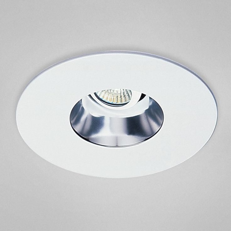"Eurofase Lighting TH-G23 6"" Line Voltage Adjustable Reflector Recessed Retrofit White Recessed Lights Recessed Trims Reflector Trims"