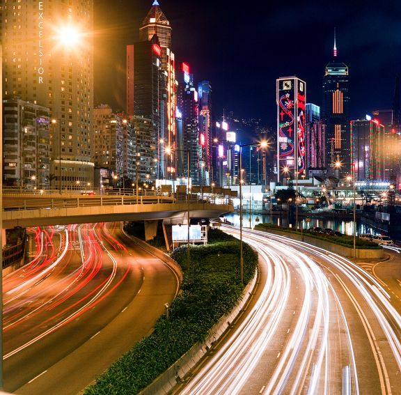 How to create photos with light trails using long exposures.