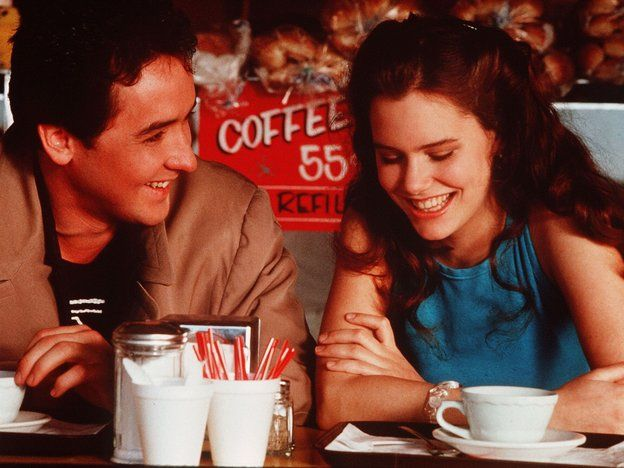 John Cusack and Ione Skye in Say Anything. - a great piece by linda holmes