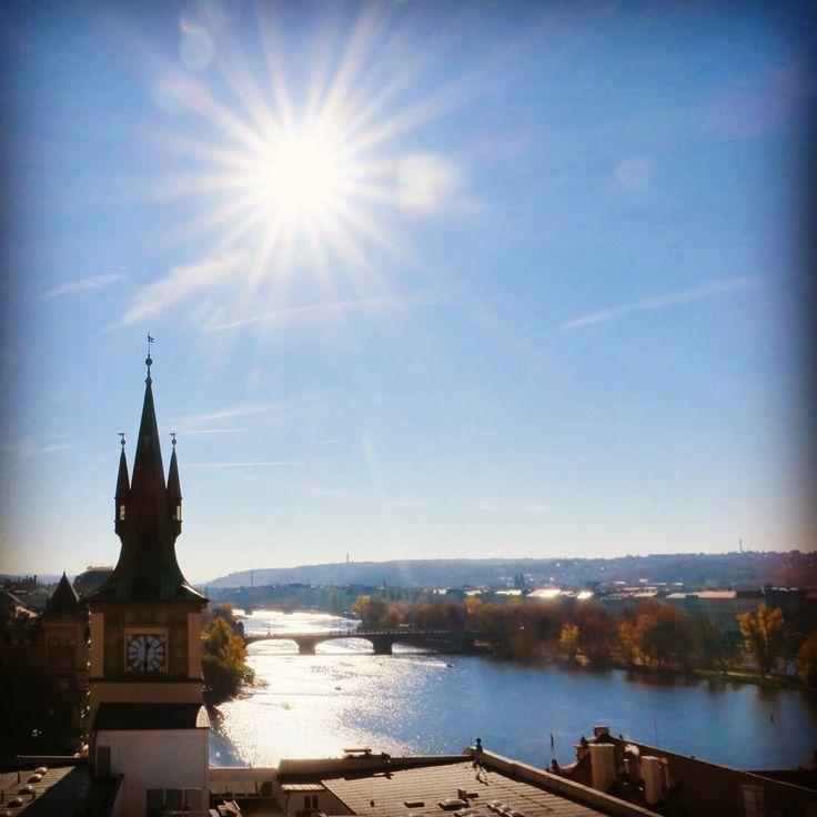 #vltavariver #sunny #sol #autumn #praha2015 #travel #prague #czech #europe #evanepeace