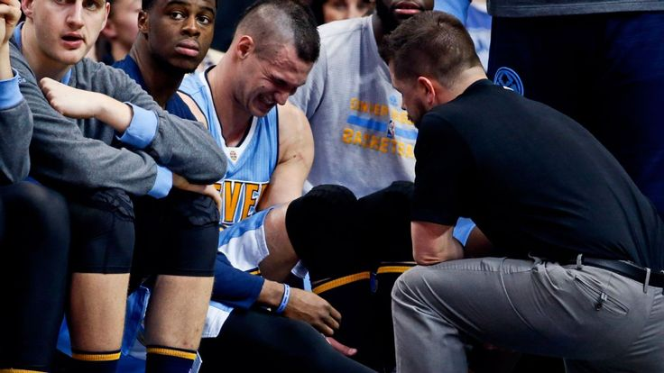 Danilo Gallinari has 2 torn ligaments in ankle injured Feb. 26