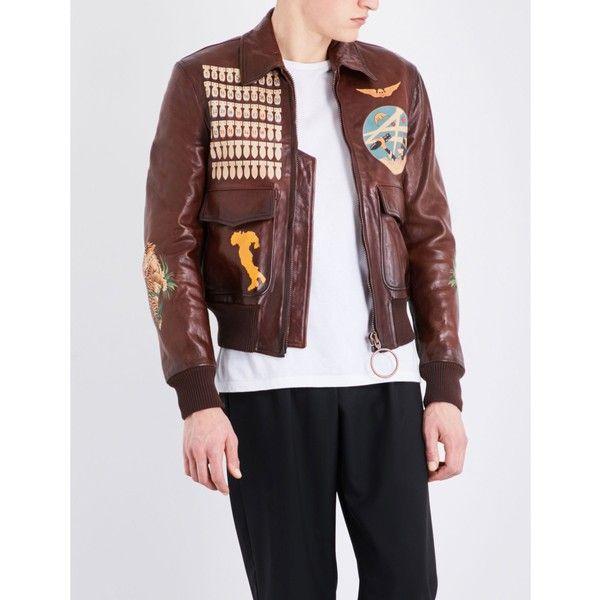 White leather jacket male