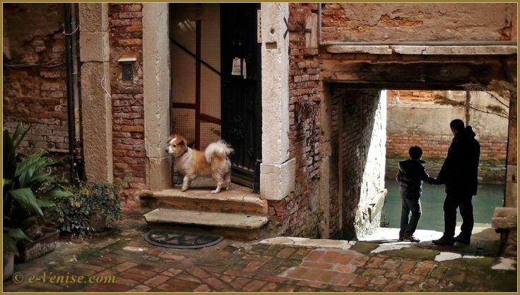 La Corte del Tagiapiera, dans le sestier de Santa Croce à Venise.
