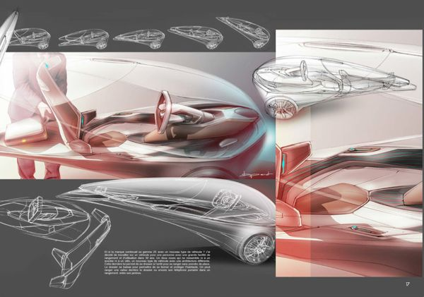 Renault Twizy by Benjamin Pérot, via Behance